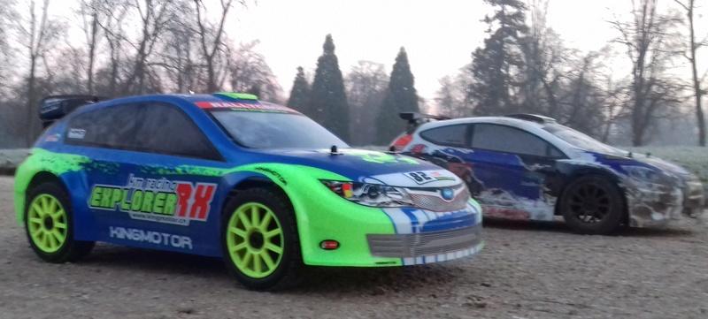 Les King Motor 1/8e  Explorer Rally Cross 6s de Trankilette & Trankilou - Page 3 20161326