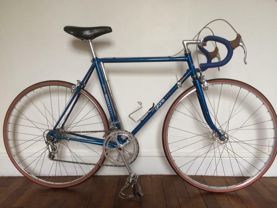 Gitane  bleu Nation full Reynolds de 1978  Img_0166