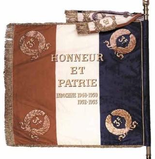 TOPIC 3ème Régiment de Parachutistes d'Infanterie de Marine (3ème RPIMA) Drapea11