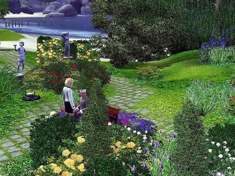 [Inspiration] [Sims 3] Les parcs Screen13