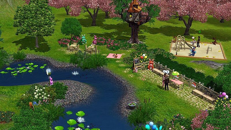 [Inspiration] [Sims 3] Les parcs Screen15