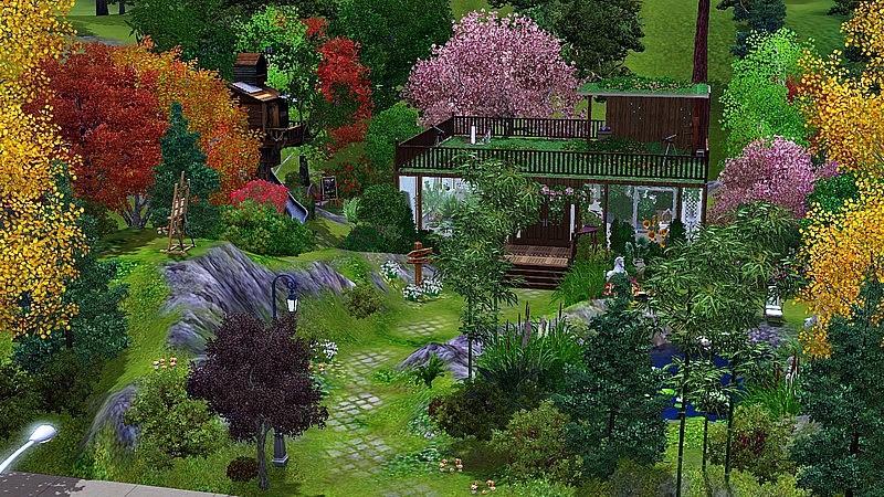 [Inspiration] [Sims 3] Les parcs Screen16