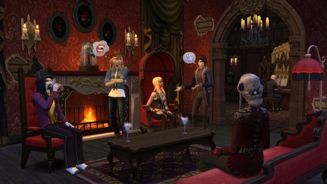 Vivez éternellement avec le pack de jeu Les Sims 4 Vampires ! Ts4_gp10