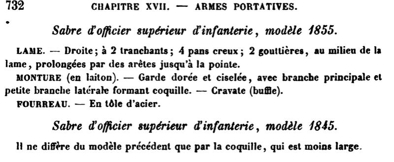 sabre 1855 d'officier supérieur d'infanterie - Page 2 Aide_m10