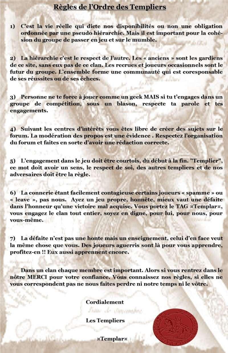 REGLEMENT DE L'ORDRE DES TEMPLIERS Raglem10