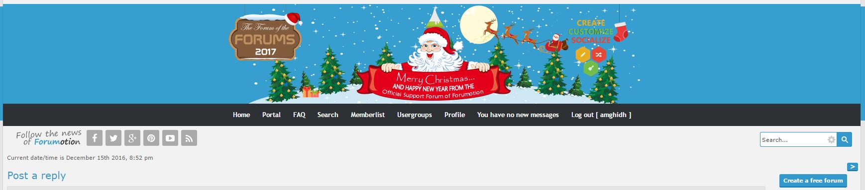 2 - Christmas banner contest  - Page 2 Bandic10