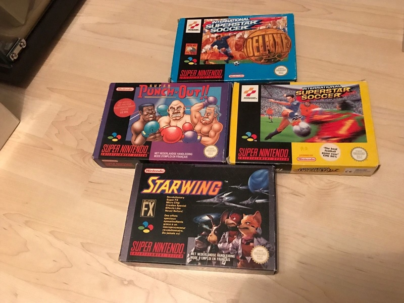 lot jeux super nintendo _5718