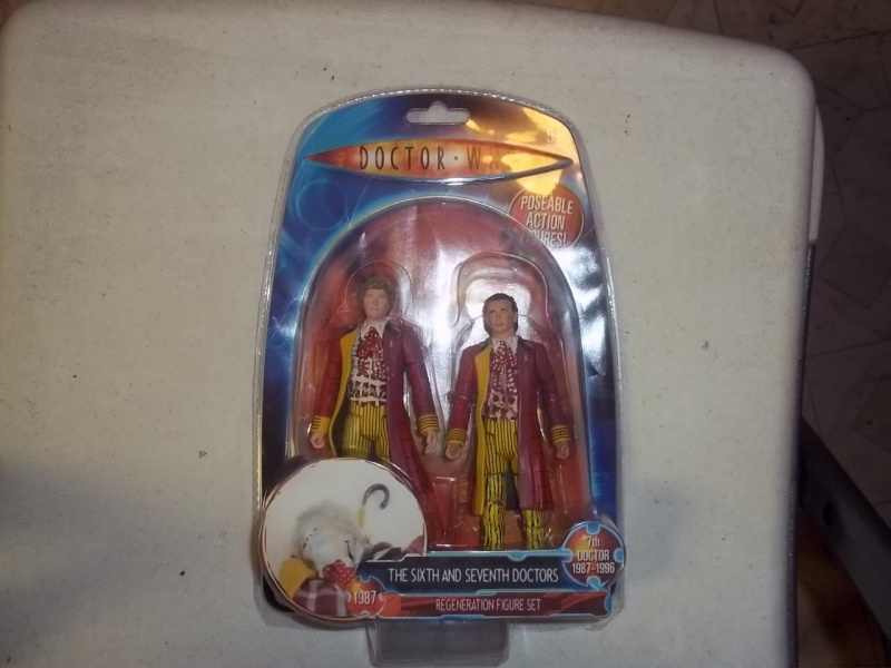 6th to 7th Doctor Regeneration 2 pack 610