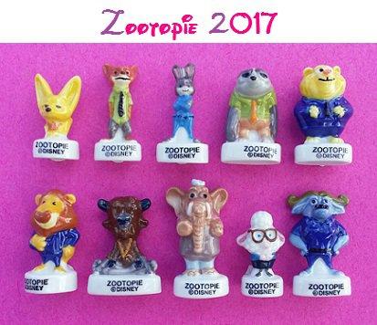 feves nouveauté 2017 Zootop10