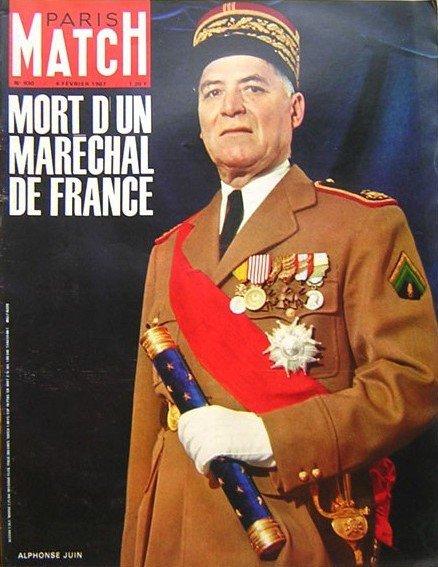 27 janvier 1967 : mort d'Alphonse Juin, dernier maréchal de France 0_matc10