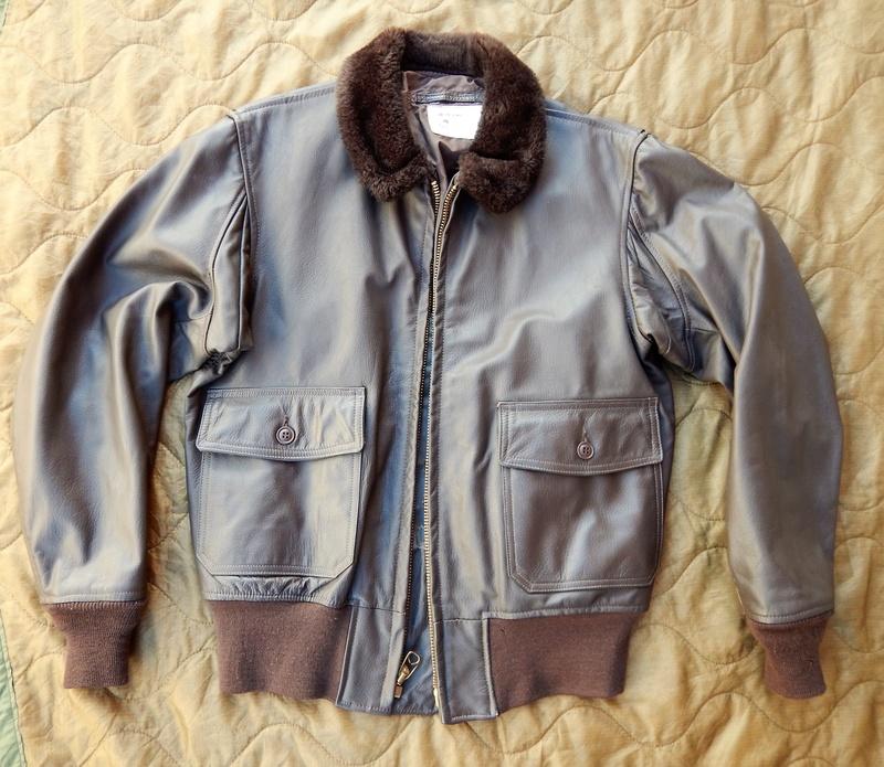 G1 flight jacket Dscn5423