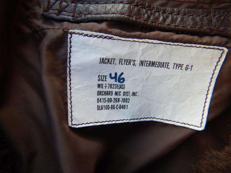 G1 flight jacket Dscn5424