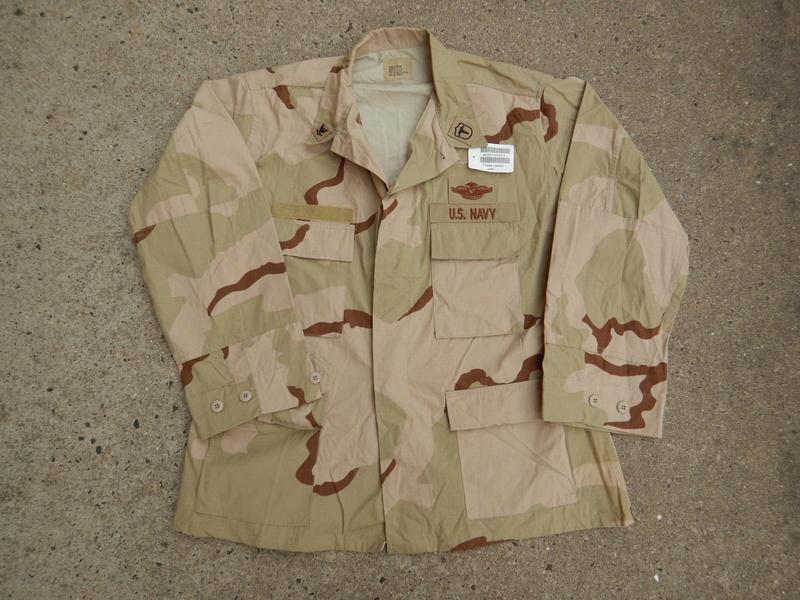 USN DCU &  BDU  blouses  Dscn5623