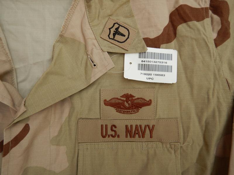 USN DCU &  BDU  blouses  Dscn5624