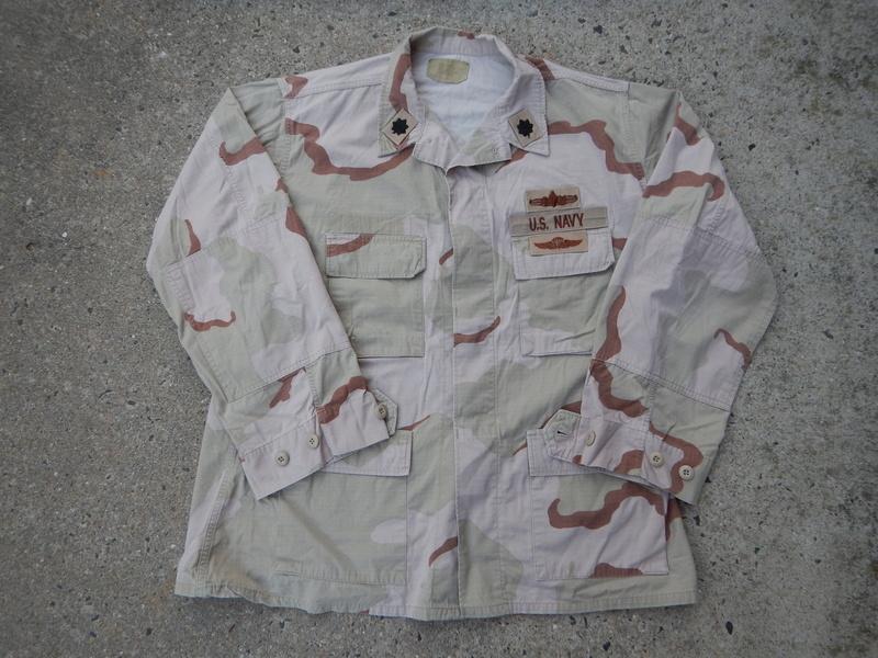 USN DCU &  BDU  blouses  Dscn5625