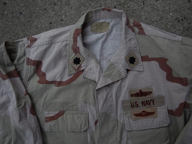 USN DCU &  BDU  blouses  Dscn5626