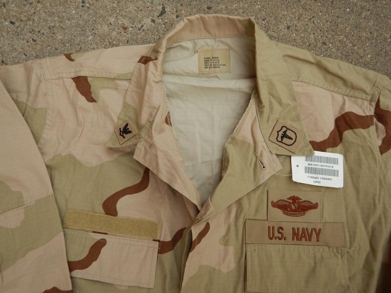 USN DCU &  BDU  blouses  Dscn5628