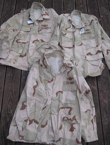 USN DCU &  BDU  blouses  S-l50010