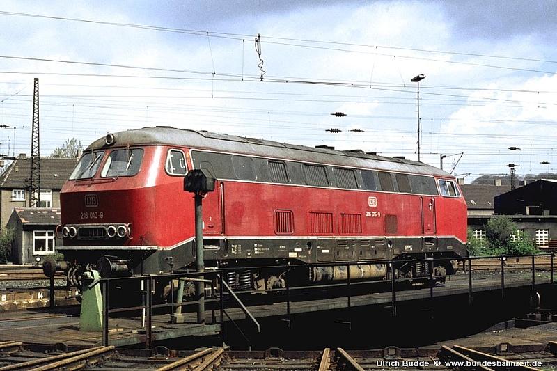 Die V160-Familie, Baureihe 210-219 der DB 216_0111