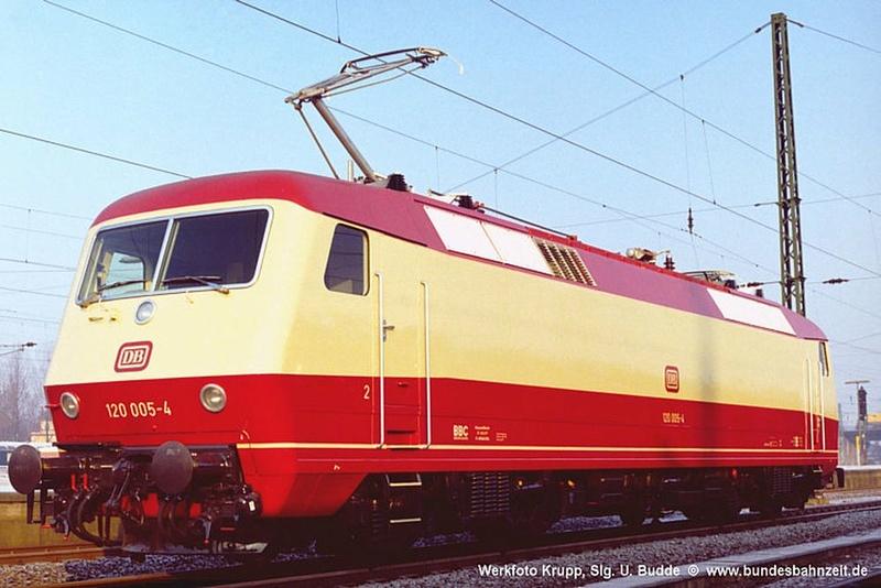"Baureihe 120 - die ""Universal""-Lokomotive B03-1210"