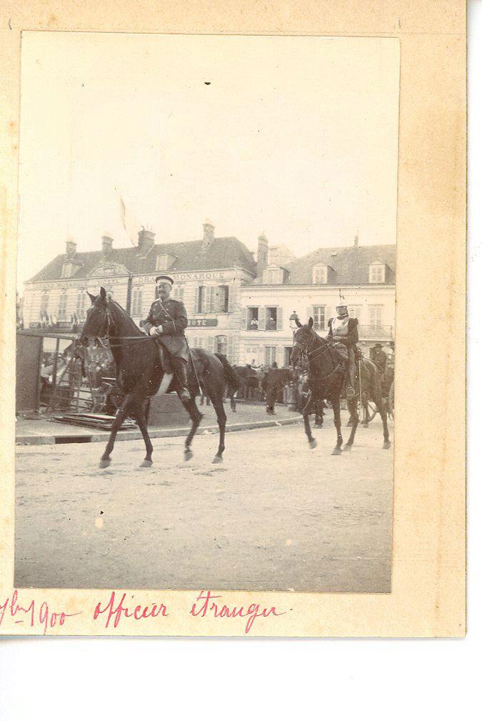 Les Grandes Manoeuvres de 1900 à CHARTRES Cavali11