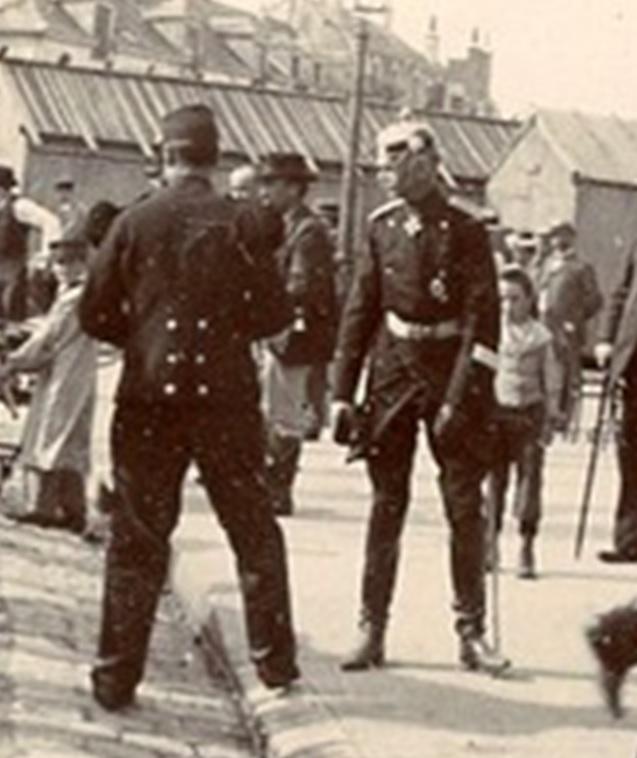 Les Grandes Manoeuvres de 1900 à CHARTRES Prussi10