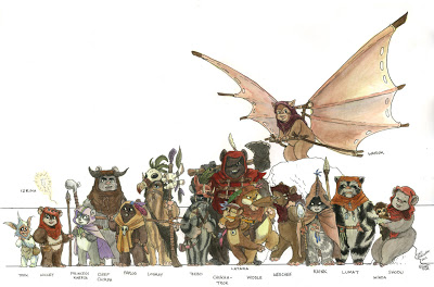 "Another Top 3 Favorite: ""Alien"" Races Ewoks_10"