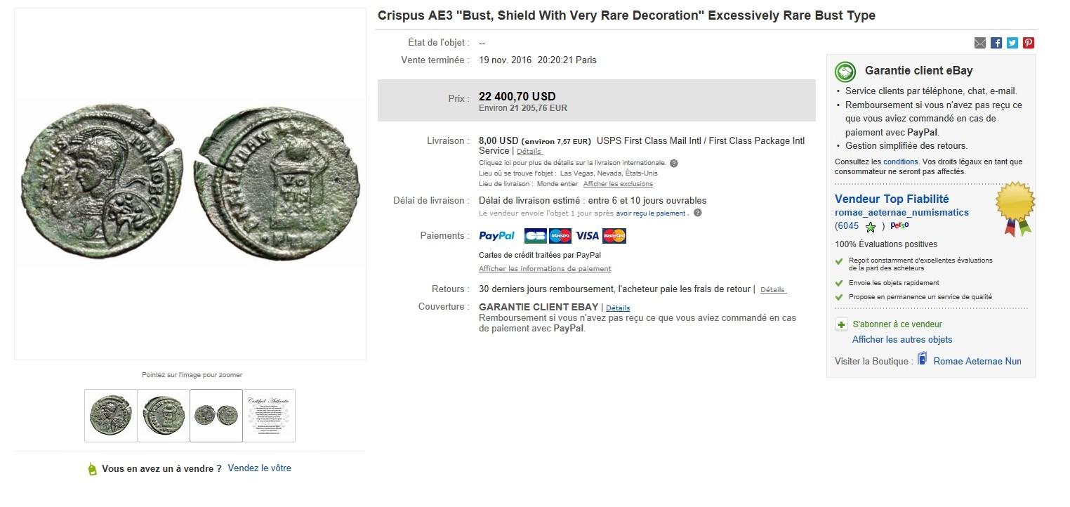 un Ae3 de Crispus vendu +de 21000€ !!! 2100011