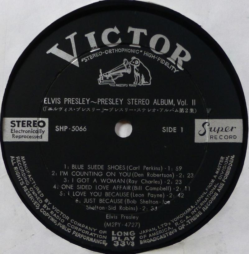 ELVIS PRESLEY 1c10