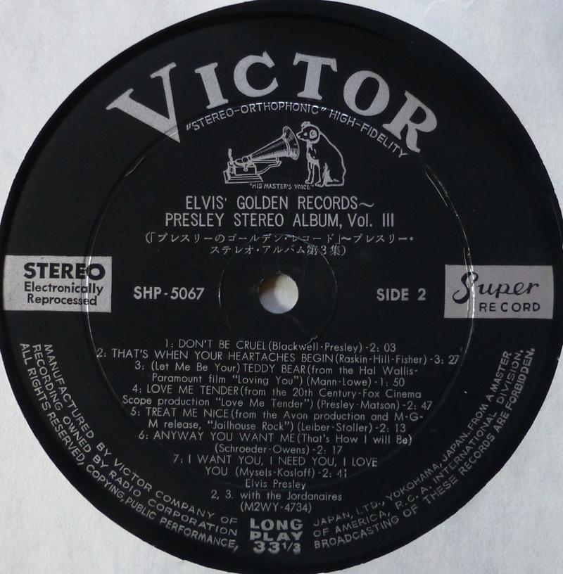ELVIS`GOLDEN RECORDS P1070112