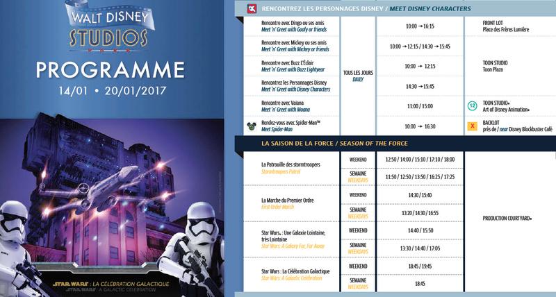 Présentation exceptionnelle de Star Wars : Saison de la Force à Disneyland Paris - Page 2 Saison10