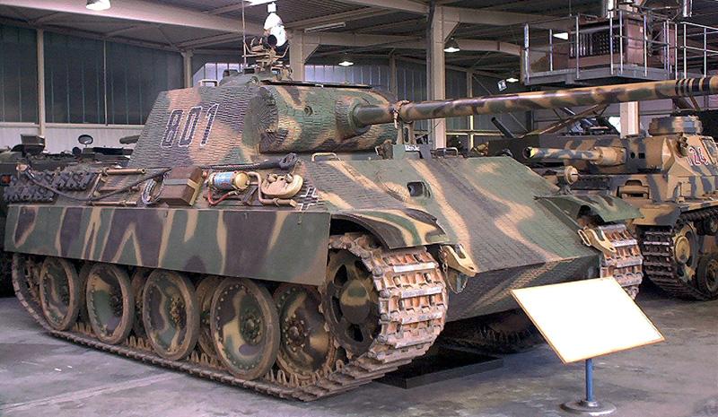 Enlever le filet des roues de chars allemands Panzer10
