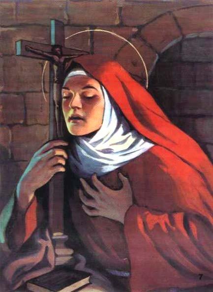 Les 7 Armes de Sainte Catherine De Bologne dans la lutte contre le mal ! Sainte10