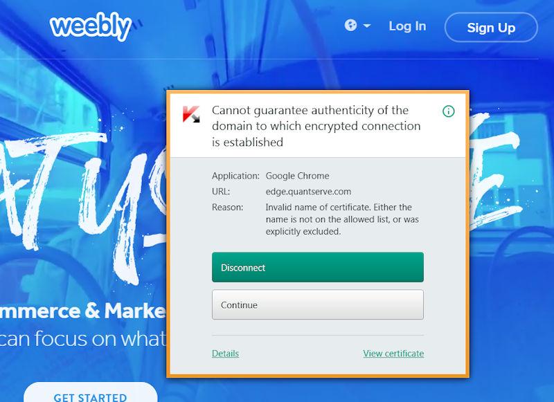 Invalid certificate? Certwa10