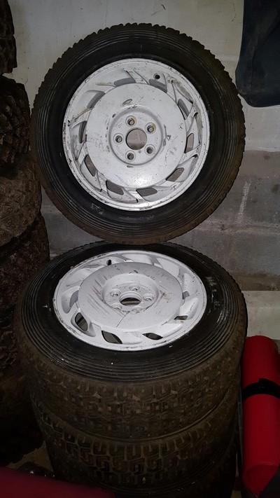 5 Jantes 605 + pneus sec en 16 5x108 Resize13