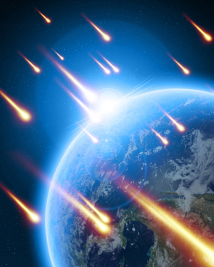 Caída de meteoritos. Caida-10