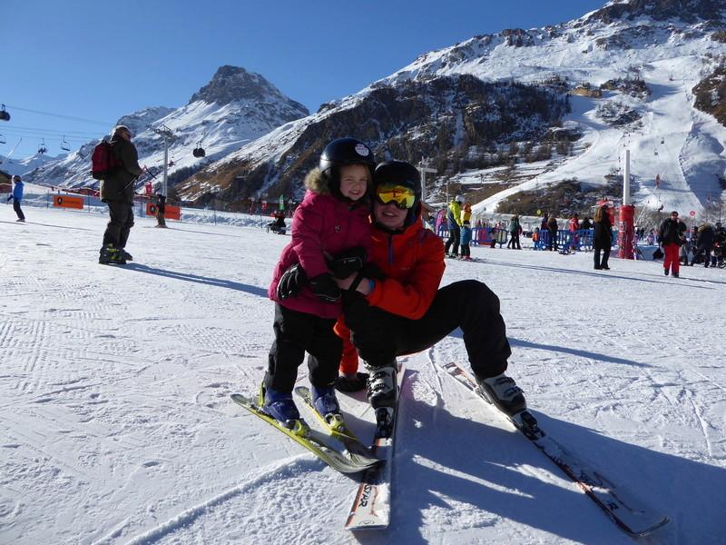 Une Joyeuse Montagnarde Bisontine à Val d'Isère P1000725