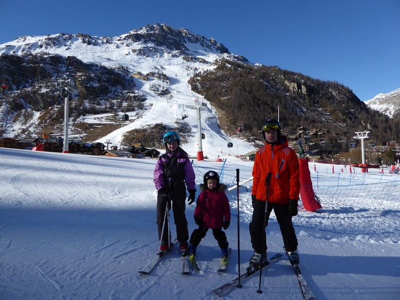 Une Joyeuse Montagnarde Bisontine à Val d'Isère P1000727