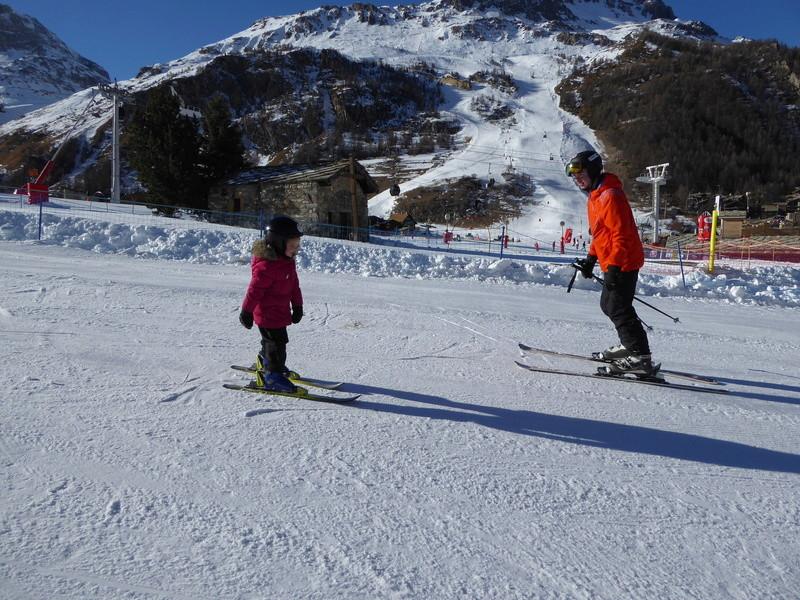 Une Joyeuse Montagnarde Bisontine à Val d'Isère P1000729