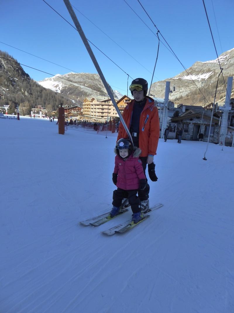 Une Joyeuse Montagnarde Bisontine à Val d'Isère P1000813