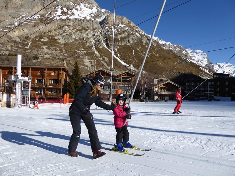 Une Joyeuse Montagnarde Bisontine à Val d'Isère P1000814