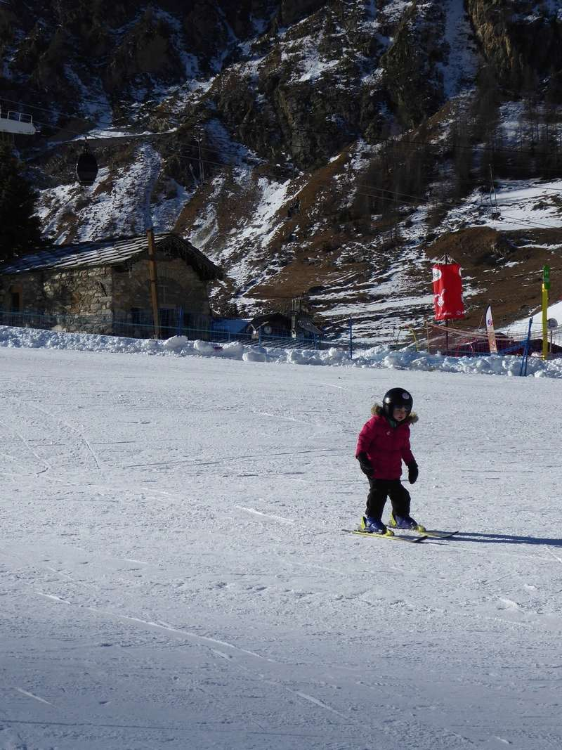 Une Joyeuse Montagnarde Bisontine à Val d'Isère P1000816