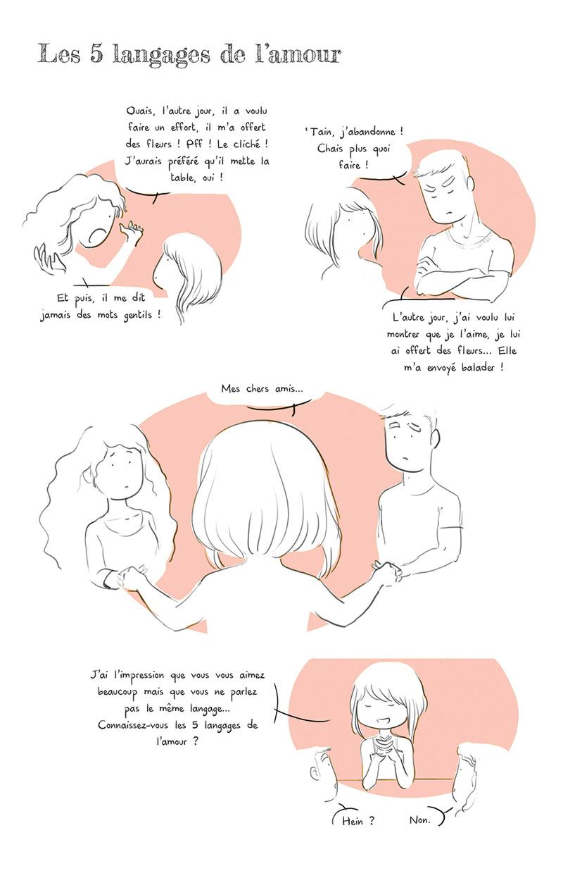Les 5 langages de l'amour Source : Art-Mella Les5_l10