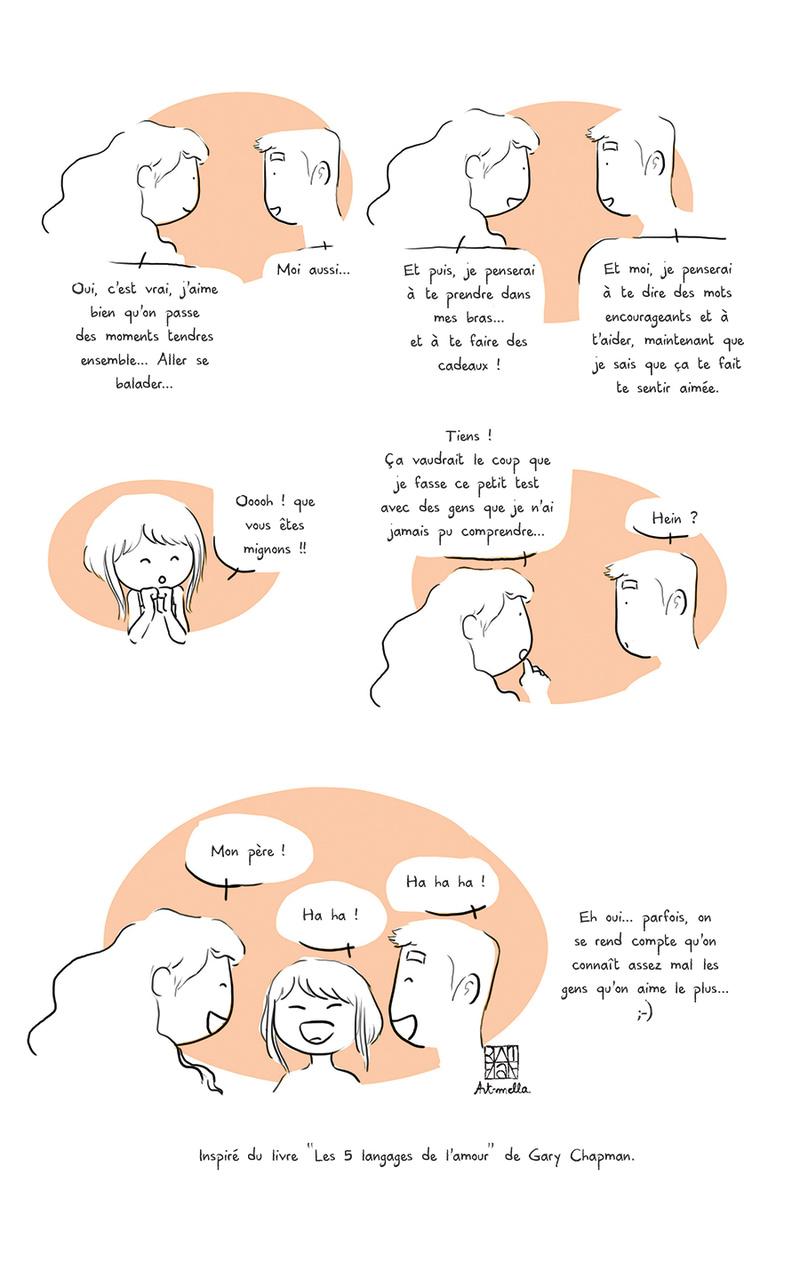 Les 5 langages de l'amour Source : Art-Mella Les5_l13