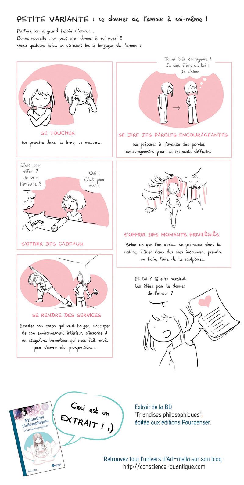 Les 5 langages de l'amour Source : Art-Mella Les5_l14