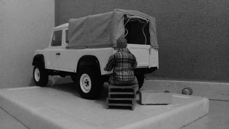 RC4WD - Land Rover Defender D110 Pick Up bâché  _2016110