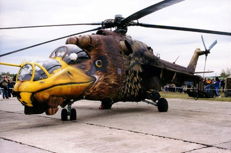 Mil mi 24 Hind D.  Revell 1/100 - Page 2 Cool-h10