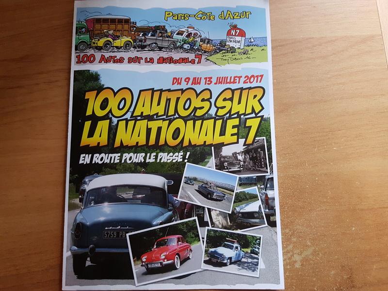 100 Autos sur la Nationale 7 20161210