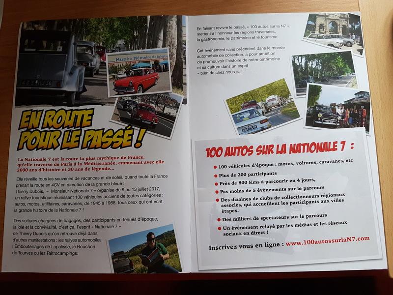 100 Autos sur la Nationale 7 20161211