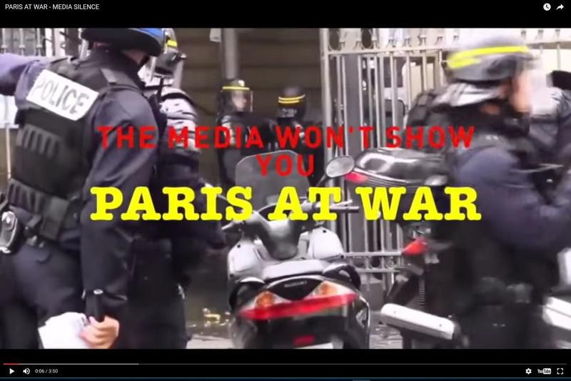"""Et nous sommes en """"Etat d'urgence"""", avec reconduction en cours... Paris_10"""